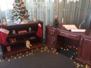 Christmas Desk